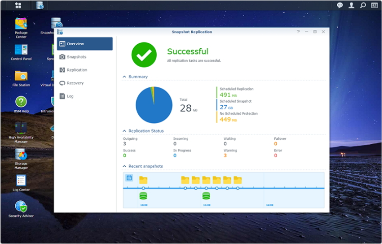 Synology NAS Data protection