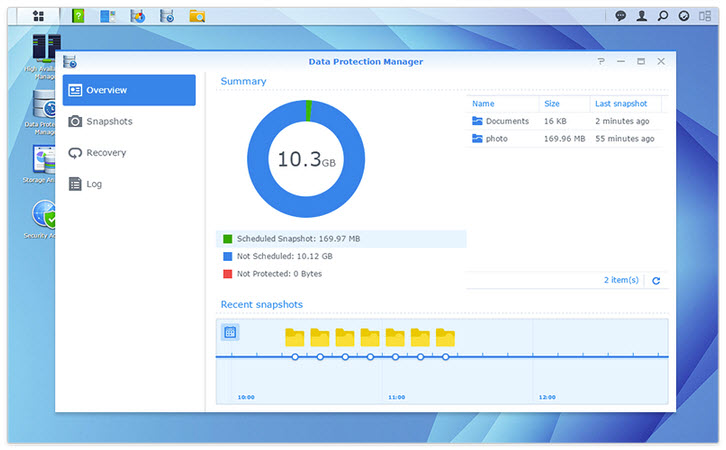 Synology NAS Next generation data protection
