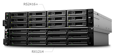 Synology NAS On-the-fly scalability