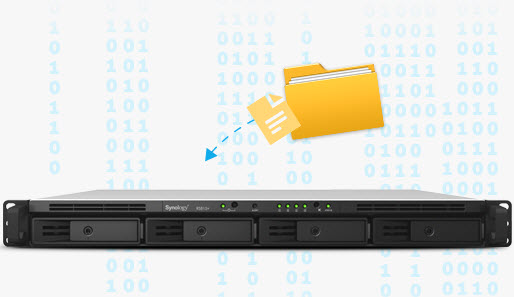 Synology NAS Ideal encrypted data