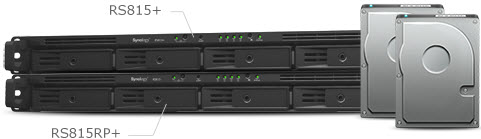 Synology NAS Robust scalability up