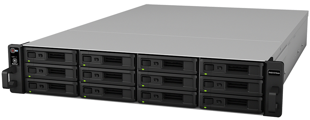 Synology NAS Reliable, scalable SAS storage expansion unit