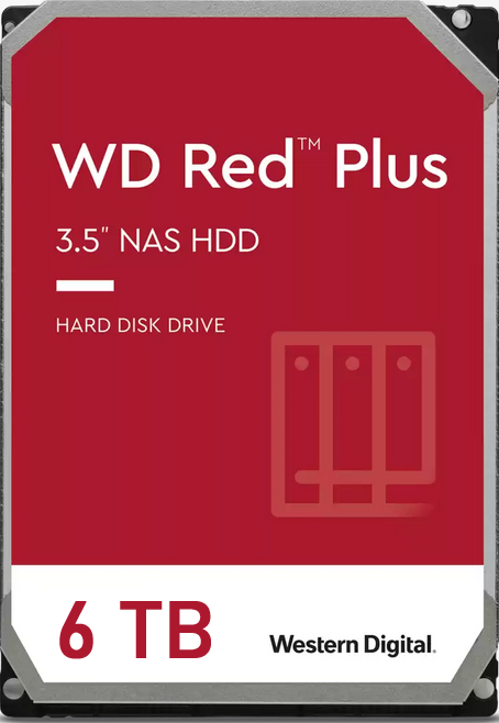 WD Red Plus NAS Hard Drive