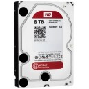 WD 8TB, IntelliPower, 64MB CACHE, SATA 6GB for NAS 24x7 -WD80EFRX