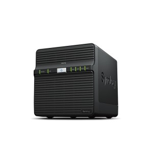 Synology DS418j Powerful entry-level 4-bay NAS for home data backup and multimedia streaming