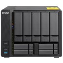 "QNAP QNP-TS-932X-2G Slim & Big 9-bay hybrid NAS supporting 3.5"" & 2.5"" drives with dual 10GbE ports"