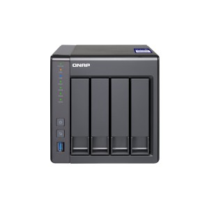 QNAP QNP-TS-431X2-8G High-performance Quad-core Business NAS with Built-in 10GbE SFP+ Port