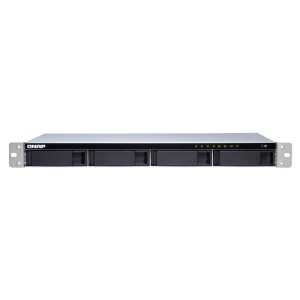 QNAP QNP-TS-431XeU-2G Short depth rackmount NAS with quad-core CPU and 10GbE SFP+ port