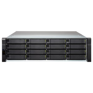 QNAP QNP-ES1640dc-v2-E5 Enterprise ZFS NAS, offering nearly zero-downtime highly reliable services (SAS 12Gb/s)