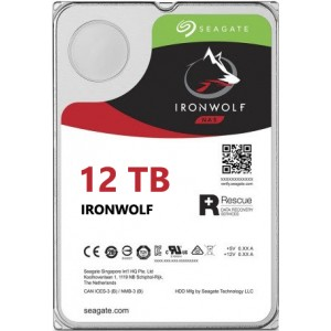 Seagate NAS IronWolf 12TB, 256MB CACHE, 7200rmp, SATA 6GB for NAS 24x7 - ST12000VN0007