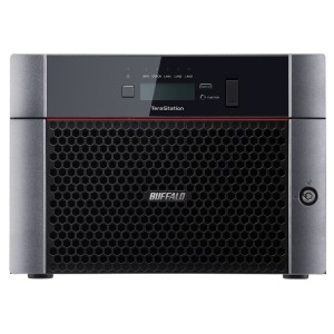 Buffalo NAS TeraStation™ 5810DN - 16TB (4TB x4 + 4bay open) High Performance, reliable storage. With built-in 10GBE Port