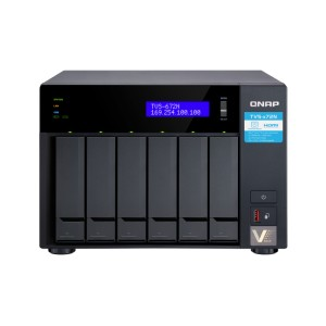 QNAP QNP-TVS-672N Cost-effective 5GbE/2.5GbE NAS with Intel® Core i3 Processor for ultimate storage performance