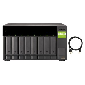 QNAP TL-D800C (USB) USB 3.2 Gen 2 Type-C high-capacity JBOD storage enclosure